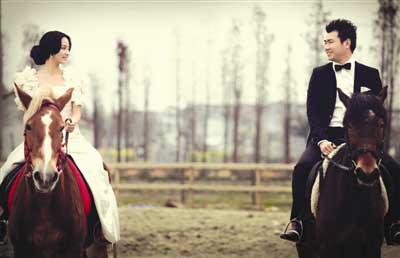 骑士山庄:婚纱照的梦幻外景拍摄地